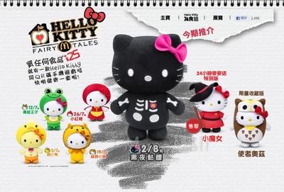 Hk Mcdonald S Hello Kitty Fairy Tales Collectibles